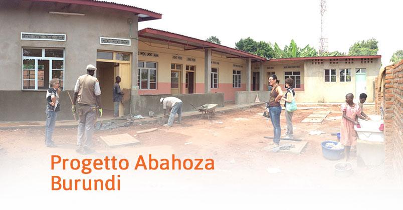 Burundi – Progetto Abahoza (2014-2015)