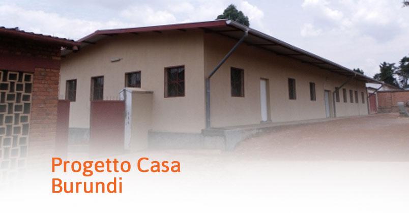 Burundi – Progetto Casa Mutwenzi (2003)